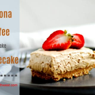 Dalgona Coffee No Bake Cheesecake Recipe Everyday Southwest