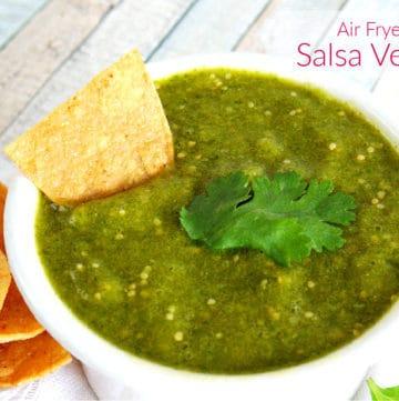 Salsa Verde Air Fryer Recipe
