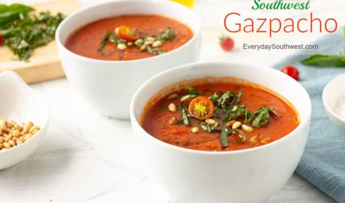Gazpacho Recipe Fresh Ingredients No Bread