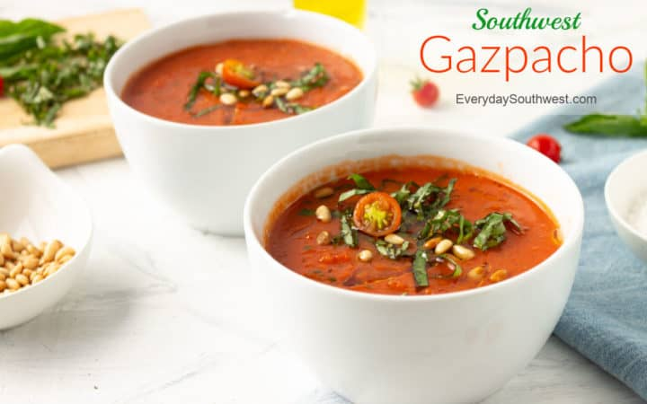 Gazpacho with Chipotle