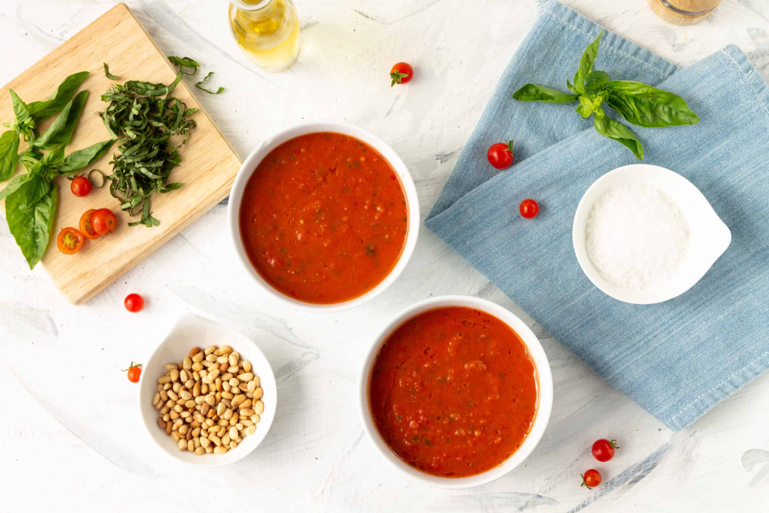 Chilled Tomato Soup with Chipotle