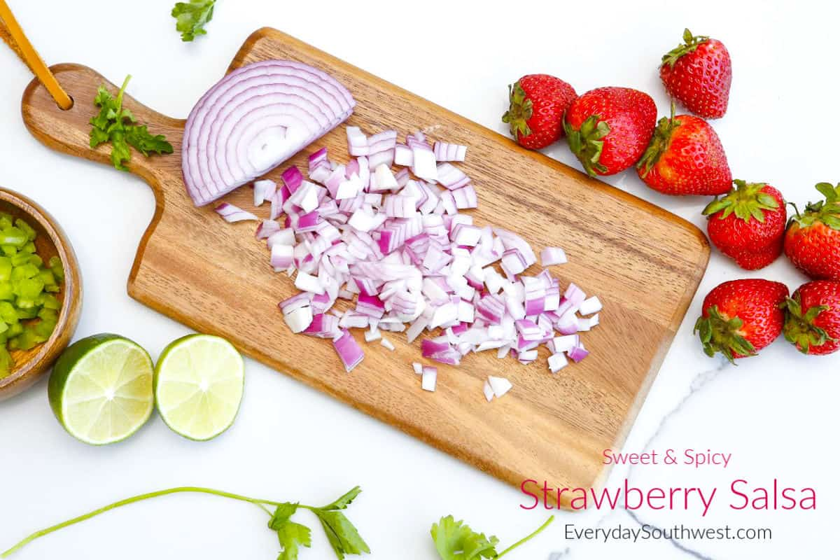 How to Make Strawberry Salsa a Sweet and Spicy Recipe