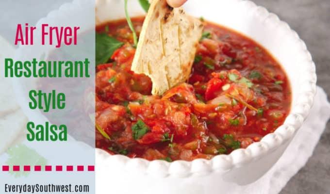Restaurant Style Salsa in Your Air Fryer