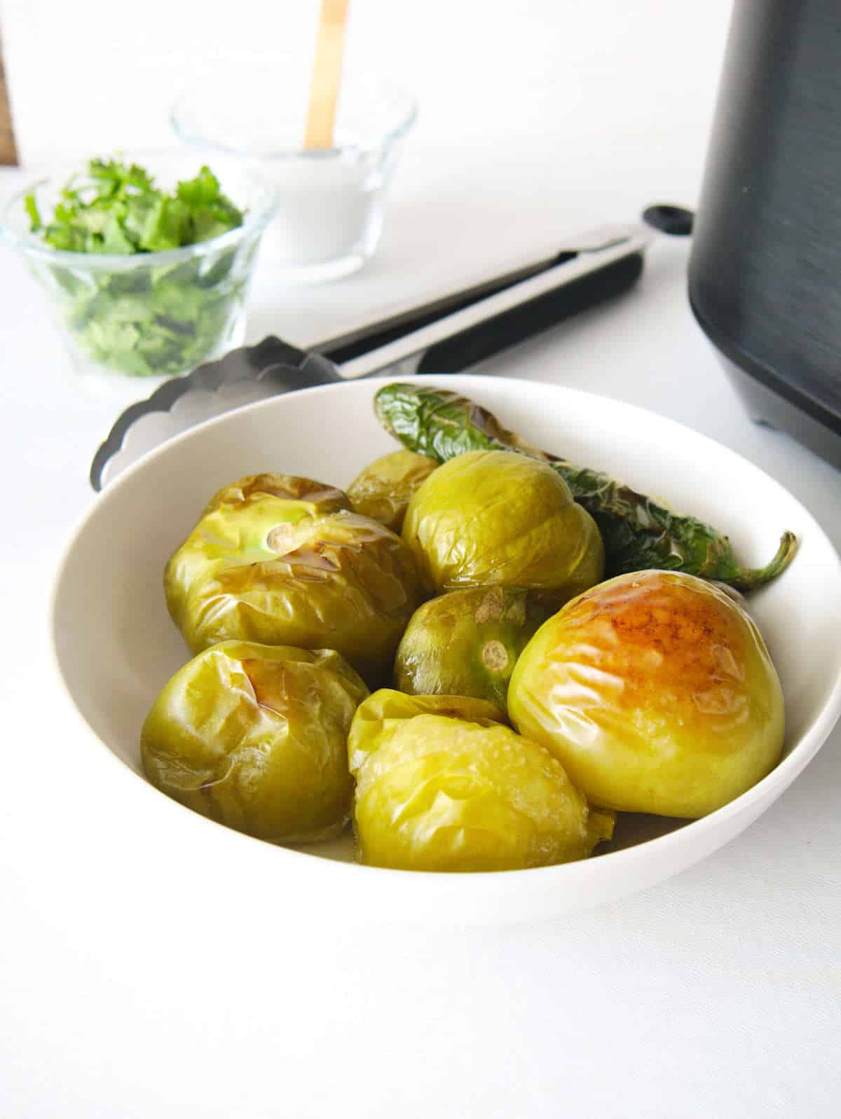 How to Roasted Tomatillos Air Fryer