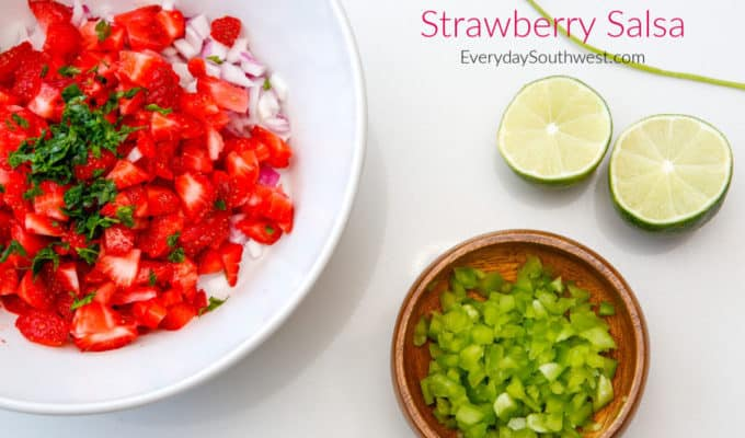 Strawberry Salsa Recipe – Sweet and Spicy!