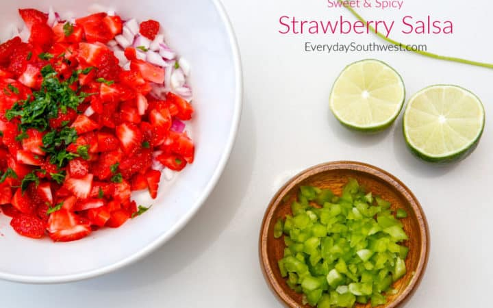 Strawberry Salsa Recipe -Sweet and Spicy