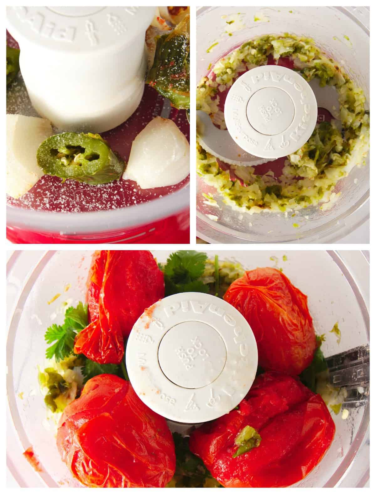 how to make restaurant style salsa step by step photos