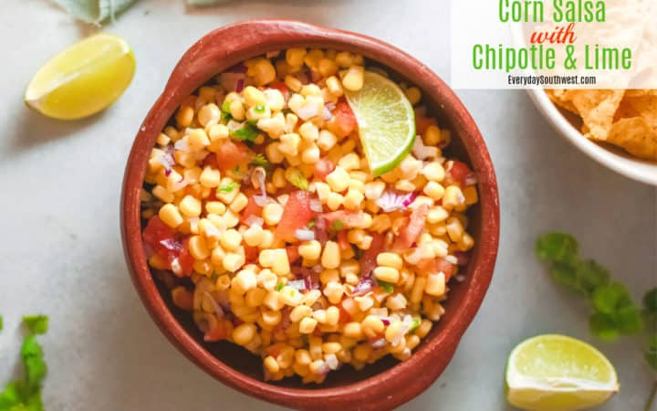 Corn Salsa with Chipotle and Lime