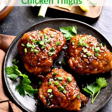 Jalapeno Chicken Thighs with Honey Lime Soy Sauce Marinade