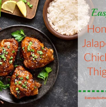 Jalapeno Chicken Thighs Recipe with Honey Lime Marinade