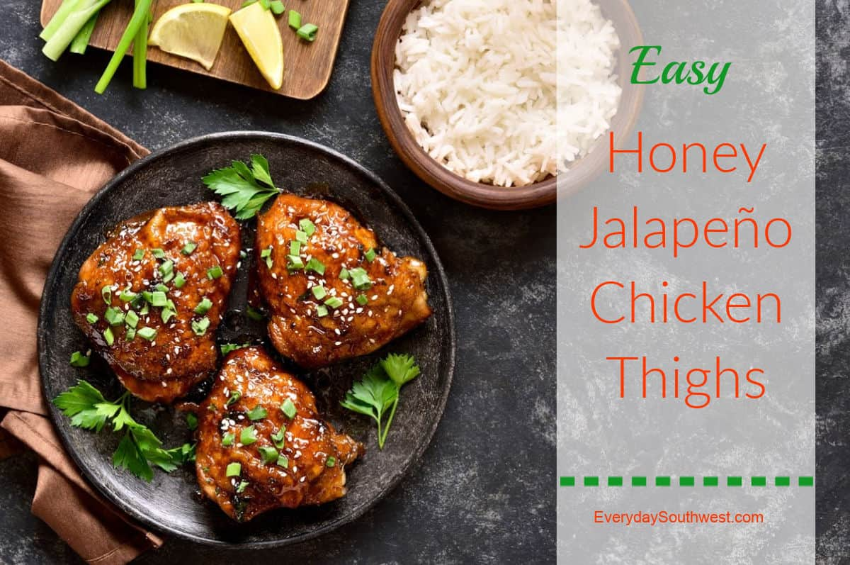Easy Grilled Jalapeno Chicken Thighs with Honey and Lime Marinade