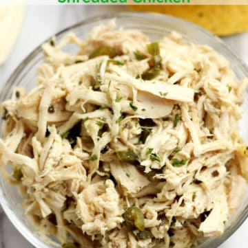 Mexican Shredded Chicken in the Slow Cooker